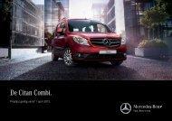 Download prijslijst Citan (PDF) - Mercedes-Benz
