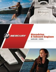 Sterndrive & Inboard Engines - Mercury Marine