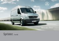 Sprinter. Varebil - Mercedes-Benz