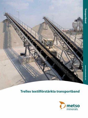 Trellex textilförstärkta transportband - Metso