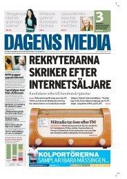 kolportörerna samplar i bara mässingensid 19 - Dagens Media