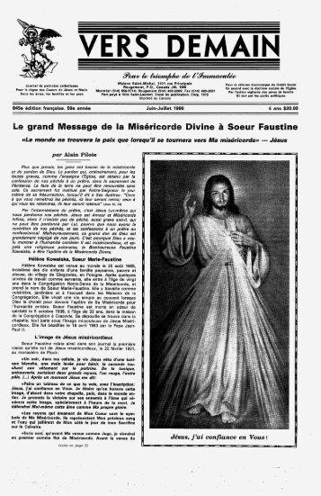 Page 1 il- ans HEIDI! il à Soeur Faustina IVII'IB 11D'1 ru-u Frinciplln ...