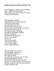 Klik her, hvis du vil se nogle af digtene - Midttrafik