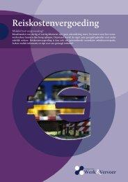 Folder Reiskostenvergoeding - CNV Publieke Zaak