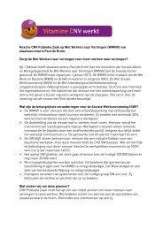 Reactie CNV Publieke Zaak op Wet Werken naar Vermogen ...