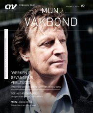 Magazine MijnVakbond Zorg Welzijn juni 2013 - CNV Publieke Zaak