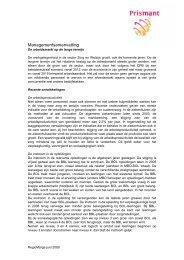 Samenvatting arbeidsmarkt Zorg en Welzijn - Prismant - juni 2009