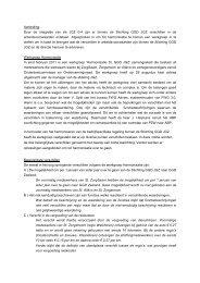 Notitie Harmonisering Jeugdgezondheidszorg Zeeland