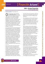 Financiën Actueel april 2012 - CNV Publieke Zaak