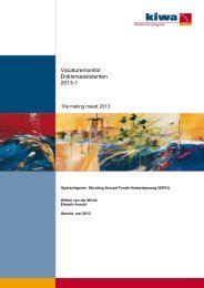 1e vacaturemonitor 2013 - Landelijke Huisartsen Vereniging