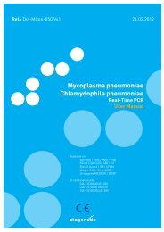 Mycoplasma pneumoniae Chlamydophila pneumoniae - Mikrogen
