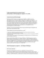 Undervisningsministeriets kreativitetsstrategi Sammandrag av ...