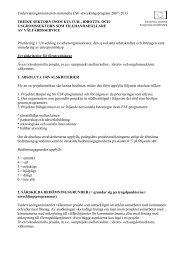 Prioritering 1: Utveckling av arbetsorganisationer, den sysselsatta ...