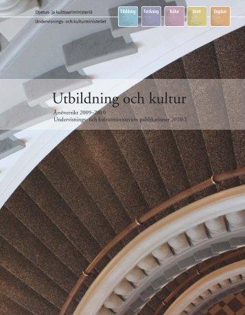 Svenska - Opetus- ja kulttuuriministeriö