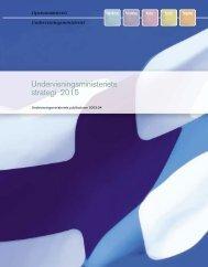 Undervisningsministeriets strategi 2015