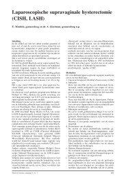 Laparoscopische supravaginale hysterectomie - Máxima Medisch ...