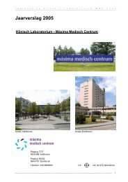 Jaarverslag 2005 - Máxima Medisch Centrum