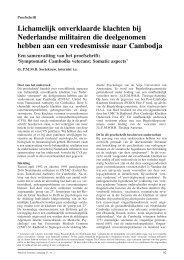 Symptomatic Cambodia veterans: Somatic aspects - Máxima ...