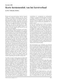 Korte hermeneutiek van het kerstverhaal - Máxima Medisch Centrum
