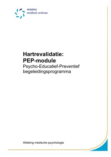 Hartrevalidatie PEP-module - Máxima Medisch Centrum