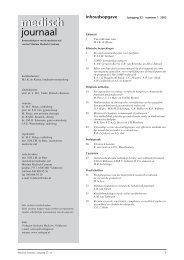 MJ 1-2003.pdf - Máxima Medisch Centrum