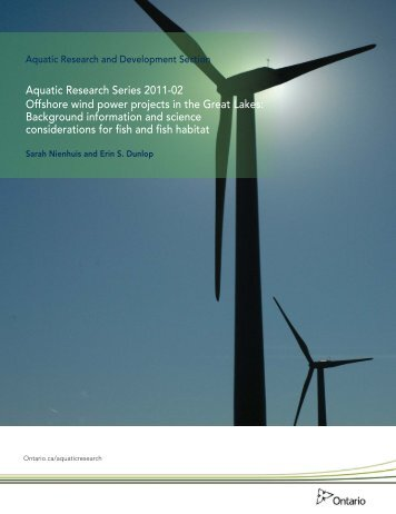 Offshore Wind Power Projects in the Great Lakes - Ministry of ...