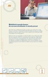 A1 - Mobiliteit in goede banen - Mobiel Vlaanderen