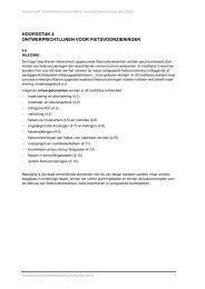 hoofdstuk 4 ontwerprichtlijnen voor fietsvoorzieningen - Mobiel ...