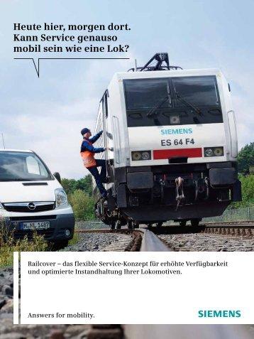 Railcover - Siemens Mobility