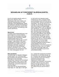 behandling af forstørret blærehalskirtel - Privathospitalet Mølholm