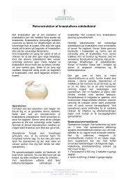 QI21200 KNÆ-06 Rekonstruktion af knæskallens sideledbånd ...