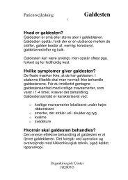Galdesten - Privathospitalet Mølholm