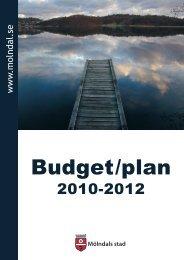 Budget_2010-2012 - Mölndal