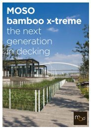 MOSO booklet Bamboo X-treme - MOSO Bamboe
