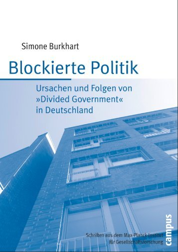"""""""Divided Government"""" in Deutschland - MPIfG"""