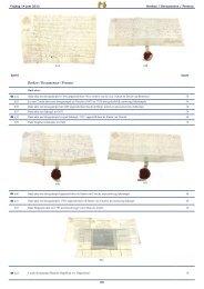 Oude boeken, aktes, documenten, affiches en divers