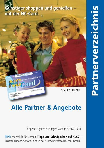Partner & Angebote - Neckar Chronik