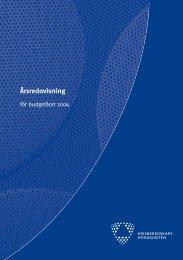 Årsredovisning - Myndigheten för samhällsskydd och beredskap