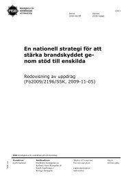 Nationell strategi för stärkt brandskydd - Myndigheten för ...