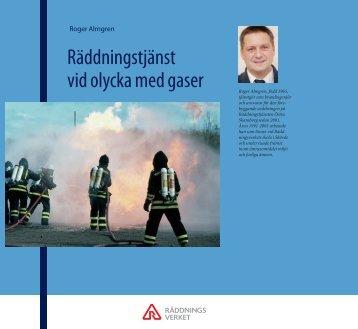 Räddningstjänst vid olycka med gaser