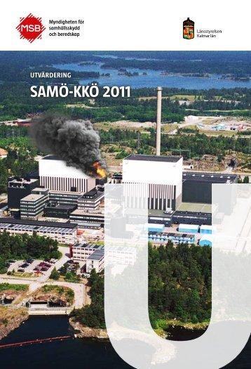Utvärdering av SAMÖ-KKÖ 2011 - Myndigheten för samhällsskydd ...