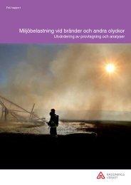 Miljöbelastning vid bränder och andra olyckor