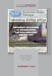 mediernas bevakning av hallandsasen.pdf - Myndigheten för ...