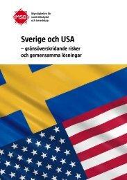 Sverige och USA : gränsöverskridande risker och gemensamma ...