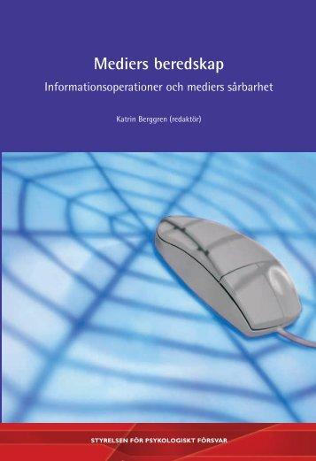 mediers beredskap.pdf - Myndigheten för samhällsskydd och ...
