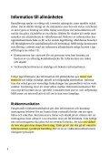 Att informera allmänheten om risker och skydd vid ... - Page 2