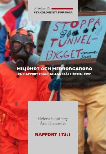 Miljöhot och medborgaroro.pdf - Myndigheten för samhällsskydd ...