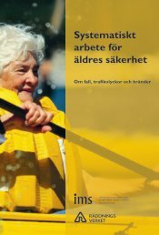 Systematiskt arbete för äldres säkerhet - Om fall, trafikolyckor och ...