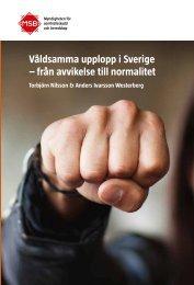 Våldsamma upplopp i Sverige - Myndigheten för samhällsskydd och ...
