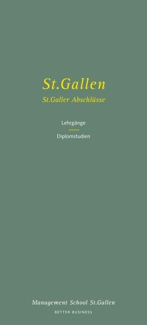 Management School St.Gallen